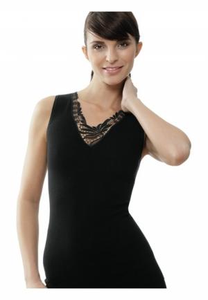 dameshemd kant zm 750 zwart