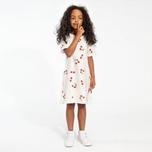 T shirt dress cherries